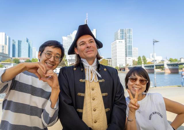 Frankfurt am Main - Goethe und seine Fans