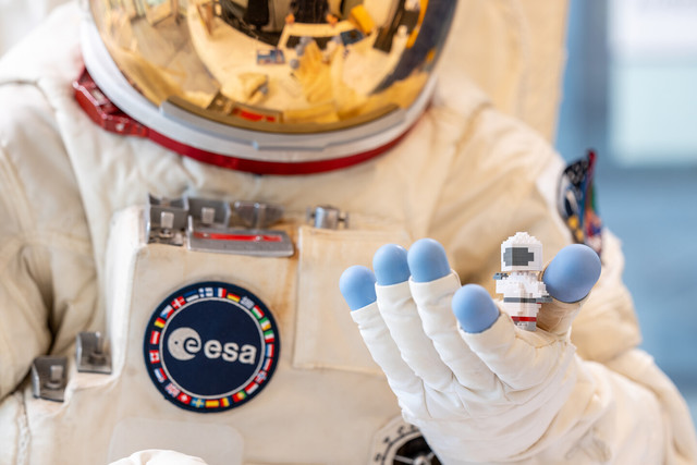 Darmstadt - Astronaut im Darmstadt-Shop