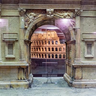 Aschaffenburg - Pompejanum Kormodellsammlung