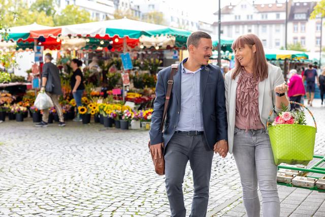 Stadt Offenbach - Wochenmarkt