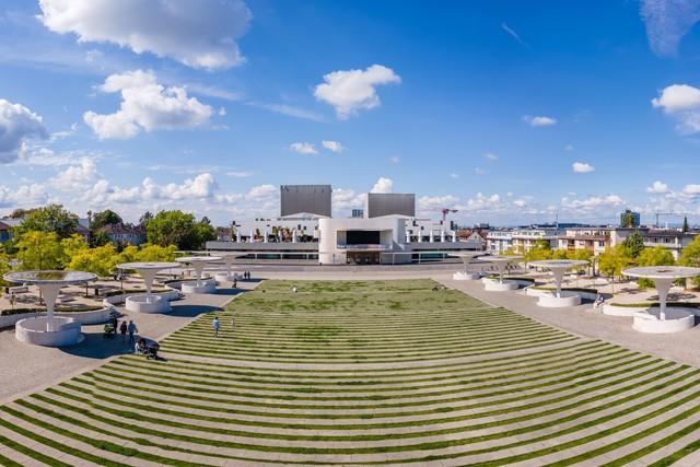 Darmstadt - Staatstheater / Georg-Büchner-Platz