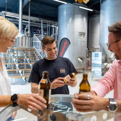 Kreis Offenbach - Brauerei Glaab Seligenstadt