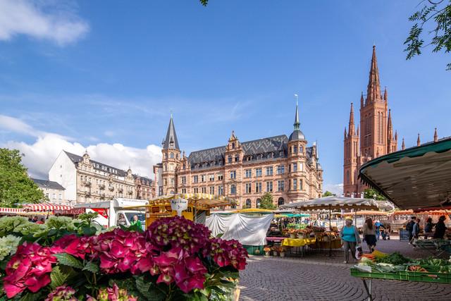Wiesbaden - Wochenmarkt