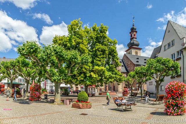 Rüdesheim am Rhein - Marktplatz