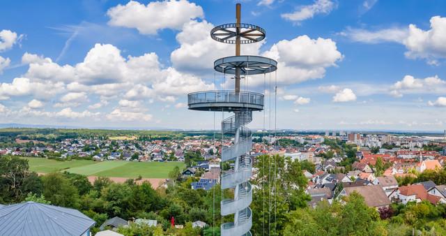 Kreis Offenbach - Aussichtsturm Dietzenbach
