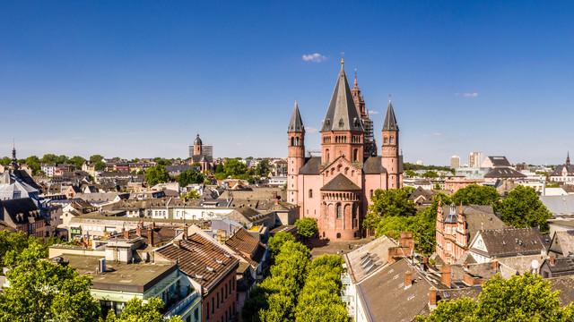 Mainz Blick vom Dom