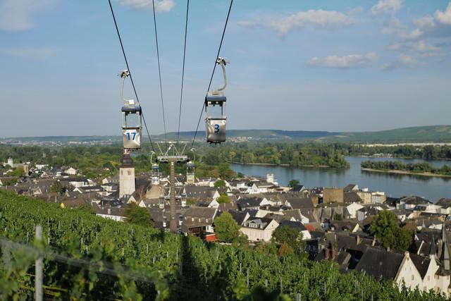 Rüdesheim am Rhein - Rüdesheimer Seilbahn
