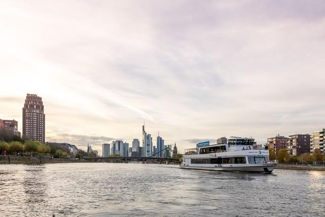 Frankfurt am Main - Schifffahrt auf dem Main