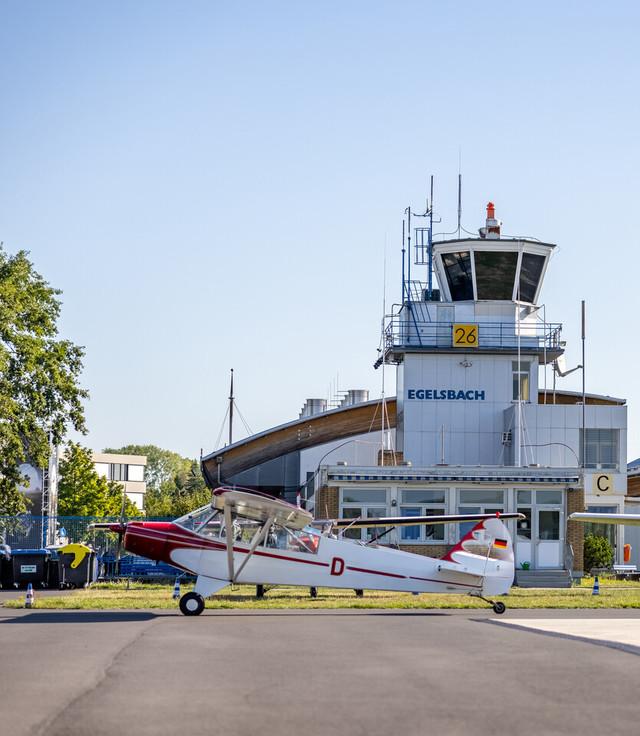 Kreis Offenbach - Flughafen Egelsbach